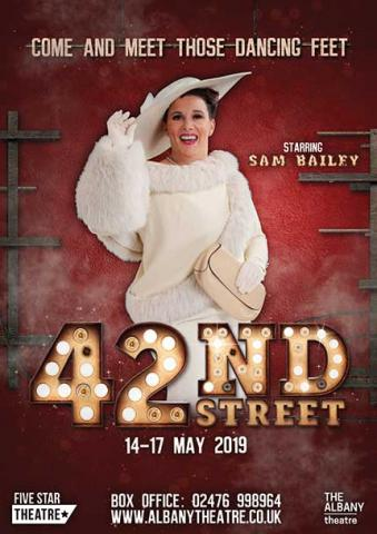 sam bailey 42nd street