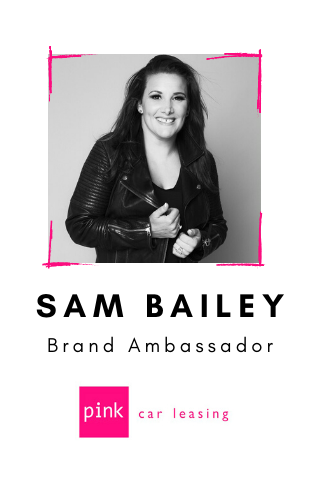 Sam Bailey partners with Pink Car Leasing